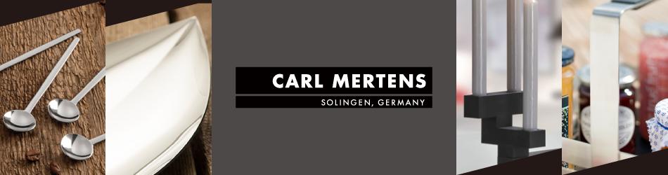 カールメルテンス社(ドイツ・ゾーリンゲン)のデザイナーズカトラリーと高級ホームアクセサリー